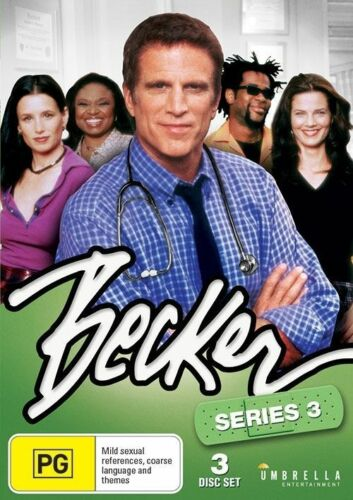 1 of 1 - Becker : Season 3 (DVD, 3-Disc Set) NEW/SEALED