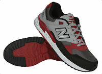 Balance 530 90s Running Leather Men's Sneakers Black/red M530psb Authentic