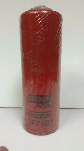 Baldwin BF7587 Fuel Filter High Efficiency Spin-On type Heavy Duty Diesel