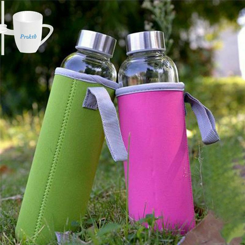 Sport Water Bottle Case Cover Insulator Bag Neoprene Pouch Holder Sleeve Carrier