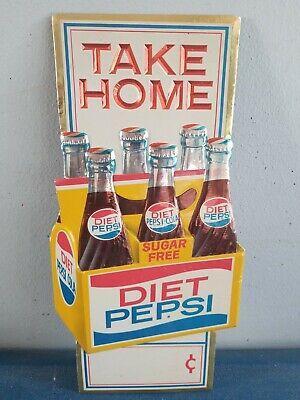 Carrier Holder 6 Pack NEW OLD STOCK Vintage Pepsi Cardboard 12 oz