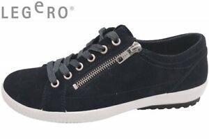 new concept 29e54 75cd9 Details zu Legero Tanaro Damen Sneaker Dunkelblau Schuhe Leder 00818-83-S93