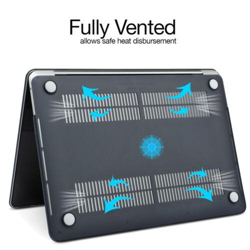 Macbook Pro Air Retina Smart Laptop Bag Rubberized Slim Case Cover HD LCD Film