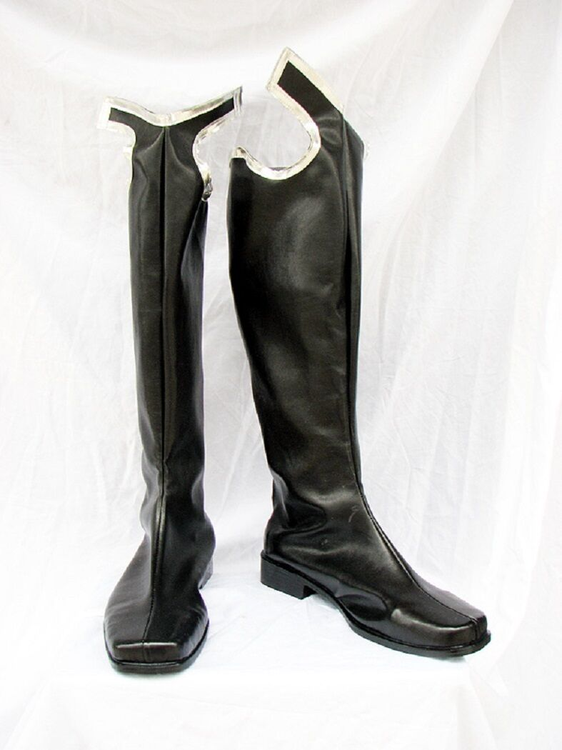 Kingdom Hearts 2 Organization XIII Cosplay Costume Boots Shoes