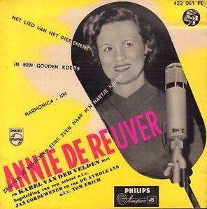 ANNIE-DE-REUVER-Het-Lied-Van-Het-Pierement-1956-VINYL-EP-7-034-HOLLAND