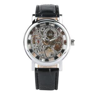 Men-Transparent-Skeleton-Watch-Hand-Winding-Mechanical-Wristwatch-Leather-Strap