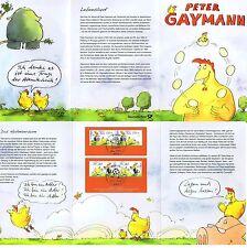 BRD 2014: Ostern! Peter-Gaymann--Zeichnungen Erinnerungsblatt Nr 3063+3064! 1704