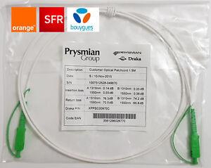 Cable Cordon Fibre Optique Pour Box Sfr Orange Bouygues 1 5m 2m