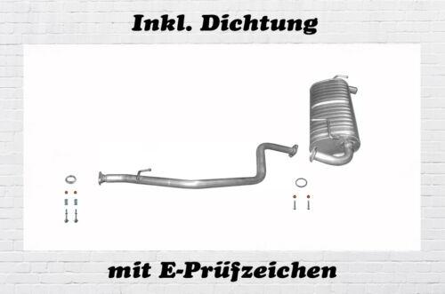 Suzuki Jimny 1.3 4WD  Auspuff Endtopf Mittelrohr Dichtung Bj.01-17 5-Türer