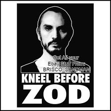 "Fridge Fun Refrigerator Magnet SUPERMAN GENERAL ZOD ""KNEEL BEFORE ZOD"" V: A 70s"