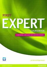 FIRST EXPERT FCE Coursebook THIRD ED w 2015 Exam Specifications & AUDIO CDs @New