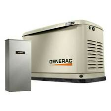 Generac Guardian 7228 18kw Home Generator With 200 Amp Transfer Switch