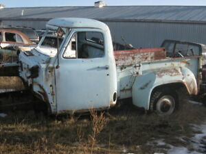 1955 mercury /ford pickup parts truck