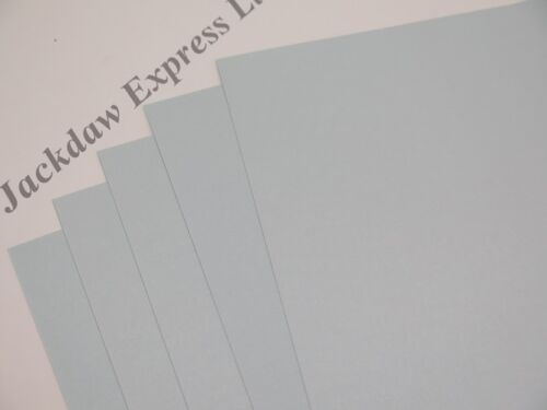15 x Pale Silver Blue A4 170gsm 2-Sided Printable Pearlescent Shimmer Card AM350