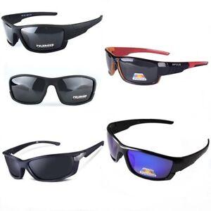 Gafas-de-Sol-Deportivas-Polarizadas-100-buena-calidad-funda-Sunglasses
