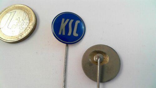 KSC Karlsruher SC Logo Anstecknadel rund blau silber