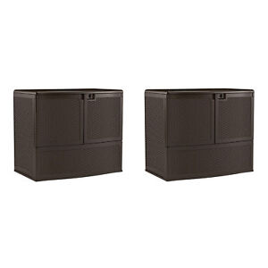 Suncast-195-Gallon-Patio-Oasis-Storage-and-Entertaining-Station-Java-2-Pack