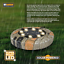 8-LED-Solar-Power-Flat-Buried-Light-In-Ground-Lamp-Outdoor-Path-Garden-Decor-UK thumbnail 6