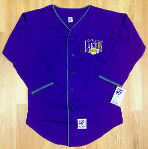 Vintage Deadstock Game Los Angeles Lakers Baseball Jersey Kobe