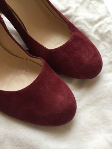 Lk Stila Crimson Suede Heels Bennett 36 Bordeaux 3 Court Shilo Uk SB1nrTwS