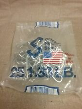 4 Bags of 50 Pieces This Listing Chicago Heights Steel Post T-Post Fence Clips