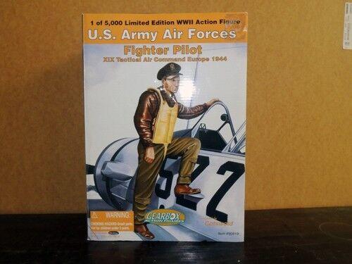 1944 US Army Air Forces combatiente  Pilot azione cifra  fantastica qualità