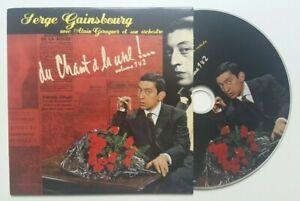 """SERGE GAINSBOURG ♦ """" DU CHANT A LA UNE """" 1ère +2ème ALBUM - EDITION LIMITÉE CD ♦"""