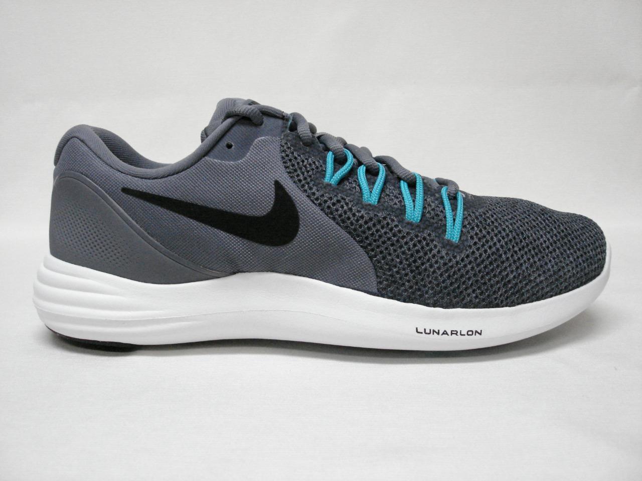 Pennino nike lunar apparente delle scarpe maschili è grigio / nero - fantastico cercando una scarpa