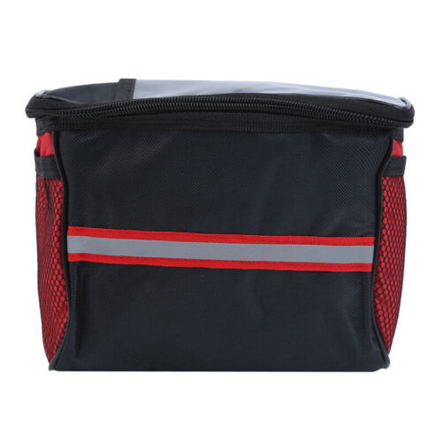 Outdoor Sport Bike Handlebar Bag Holder Cycling Pouch Front Basket Storage BagOS
