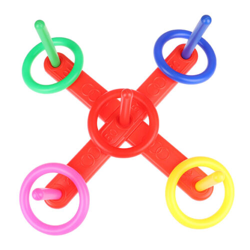 Hoop Ring Toss Plastic Garden Game Pool Toy Outdoor Toys for ChildrenONSJUKL fu