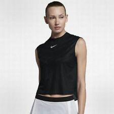 Nike 854819 100 Womens Court Dry Slam Tank Tennis Top