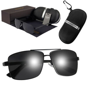 e2cd5af7dc78 Image is loading Aviator-Sunglasses-Premium-Military-Pilot-Ultraviolet-Mens- Polarized-