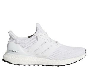 [BB6168] Mens Adidas UltraBoost Ultra Boost 4.0 Running Shoe Triple White