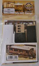 Ratio 501. Grounded Coach Body - Plastic Kit (00)