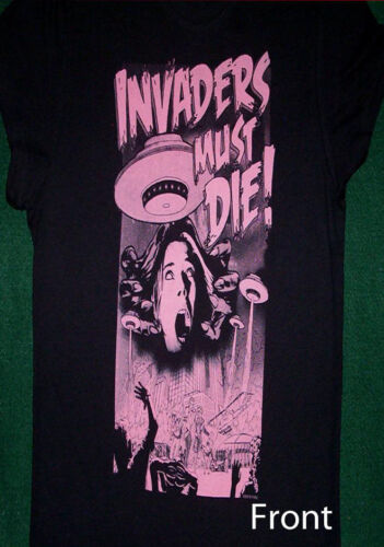 Prodigy Babydoll Invaders Must Die Juniors Shirt NEW M L XL