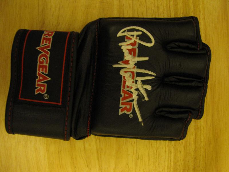 Firmado Randy Couture Guante UFC
