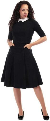 Collectif Winona 40 S 50 S Noir Blanc Bureau Robe Swing