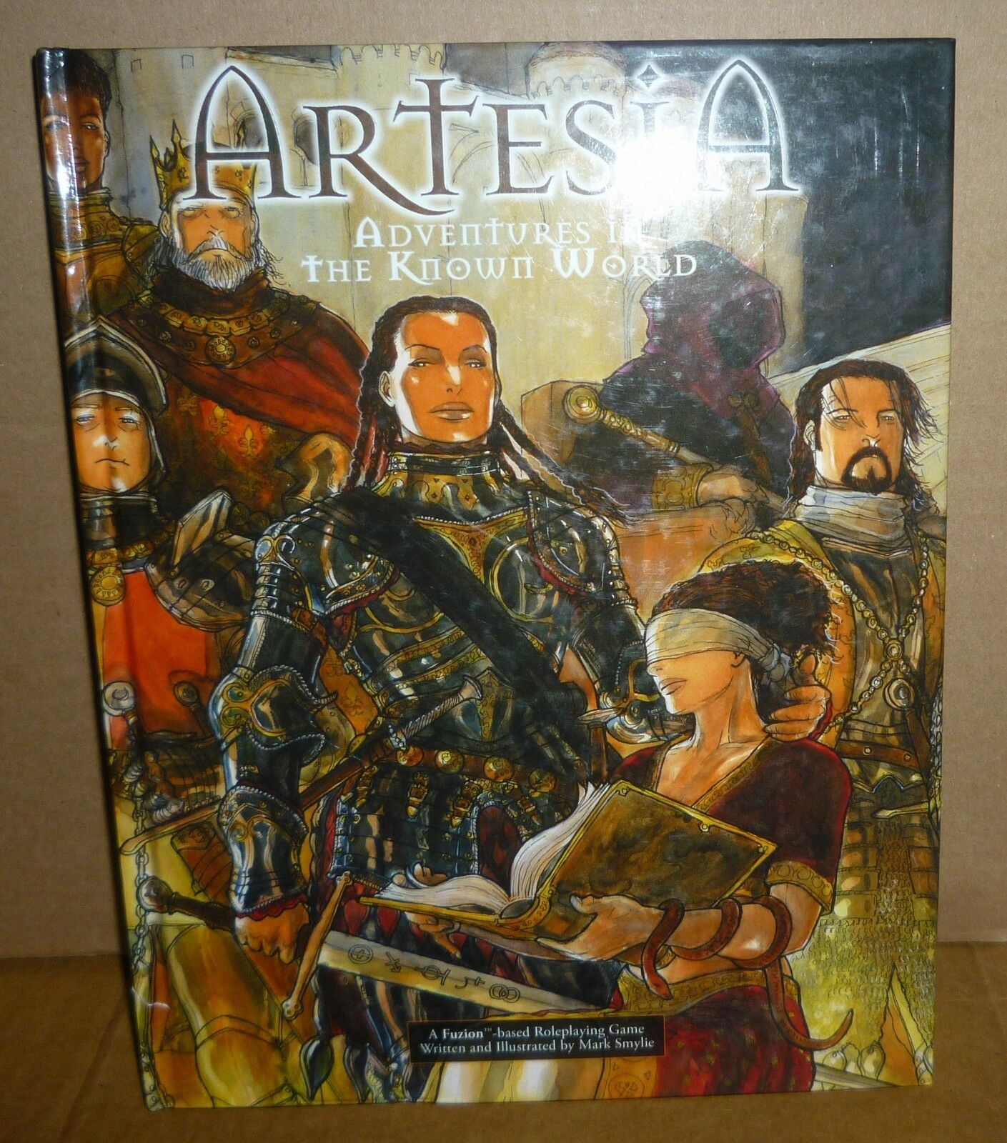 ARTESIA Adventures in the Known World RPG Book Used