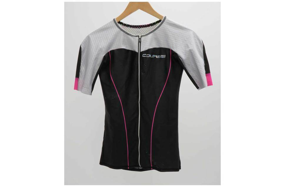 Louis Garneau Women Course Vector Tri Short Sleeve Jersey L (Ex-Demo Ex-Display)