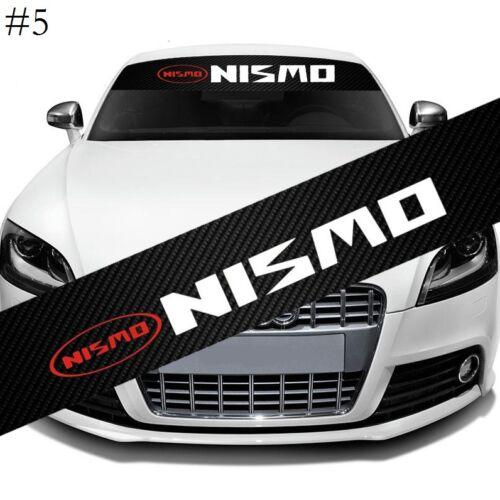 NISMO Racing Car Window Windshield Carbon Fiber Vinyl Banner Decal Sticker New