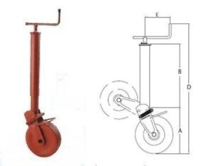 Simol-Stuetzrad-1000-kg-halbautomatische-Klappung-mit-Feder