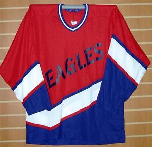 Image is loading Eagles-Minor-League-CCM-Authentic-Red-White-Blue- 2680158a85f