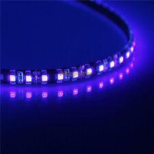 Black PCB UV Light 5M 600 SMD 3528 LED Strip 400nm Purple Waterproof IP65 12V DC