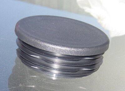 "Fits 1/"" EMT Tubing 20-1 1//8/"" Round Plastic Hole Plug End Cap 1.125 1-1//8/"""