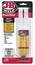 J B Weld 50132 Plastic Weld Bonding Epoxy Syringe Translucent Yellow 25 Ml