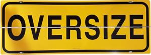 OVERSIZE Hinged Galvanized Sign