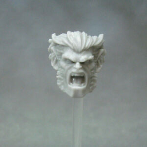"""MH438 Custom Cast Sculpt part Male head cast for use with 3.75/"""" action figures"""