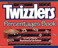 Twizzlers Percentages Book by Jerry Pallotta (2001, Paperback)