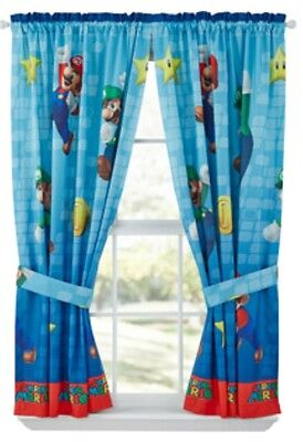 Childs Bed Room WINDOW CURTAINS Panels Drapes Girls Boys Bedding Set Disney Teen