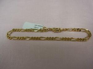 7351-585er Gelbgold Armband Lang 18 cm Breit 3,47 mm Gewicht 5,8 Gramm - München, Deutschland - 7351-585er Gelbgold Armband Lang 18 cm Breit 3,47 mm Gewicht 5,8 Gramm - München, Deutschland